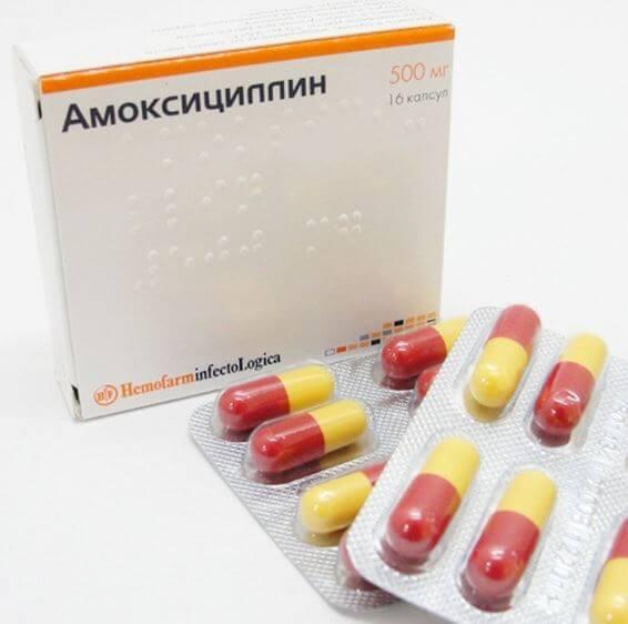 Пенициллин при гайморите