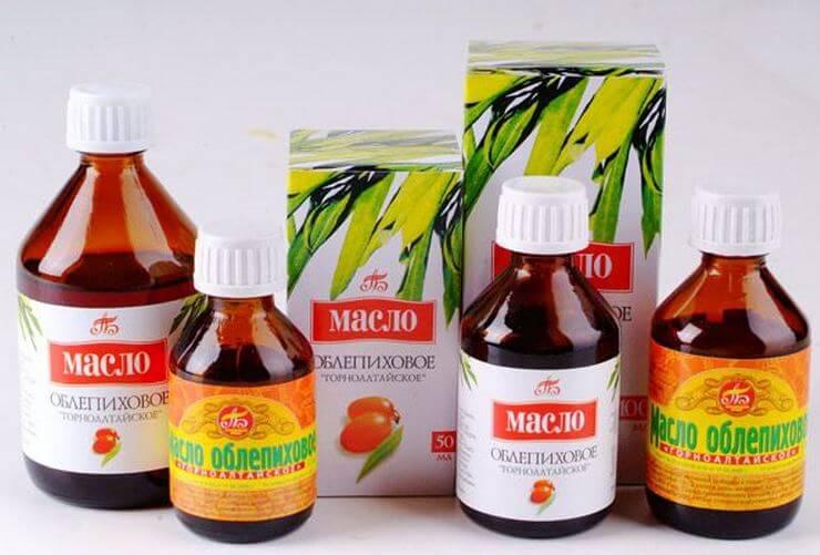 Облепиховое масло при гайморите