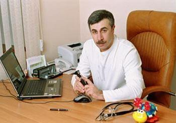 Доктор Комаровский о лечении насморка