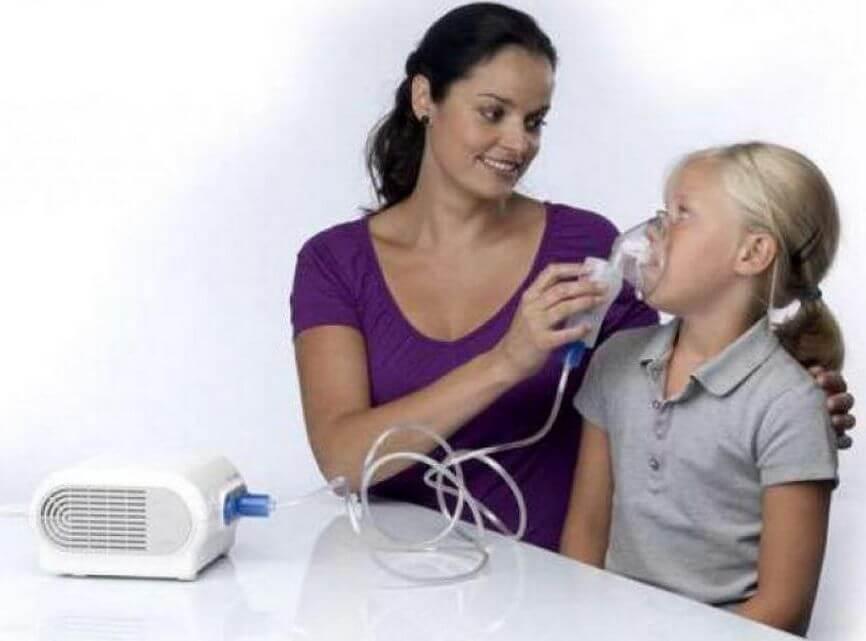 Небулайзерные ингаляции ребенку