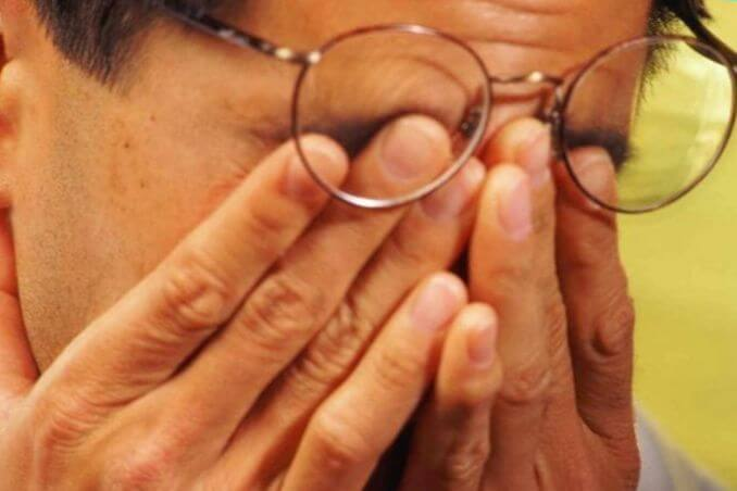 Осложнения гайморита на глаза