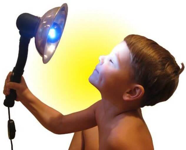Рефлектор Минина ребенку