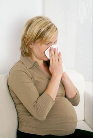 Заложенность носа в период беременности