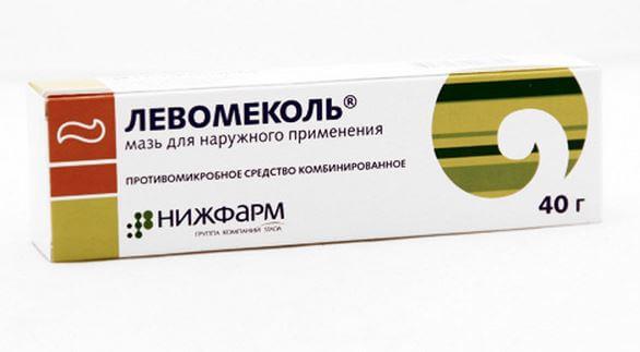 Левомеколь от гайморита