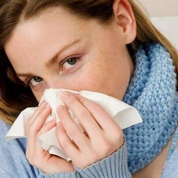 После насморка кашель, температура